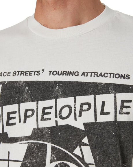 VINTAGE WHITE MENS CLOTHING THE PEOPLE VS TEES - SS21M113VWHT
