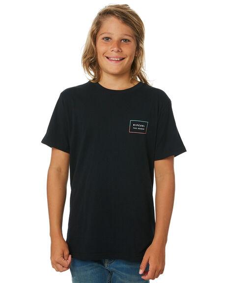 BLACK KIDS BOYS RIP CURL TOPS - KTEQZ20090
