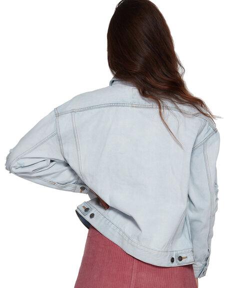 BLEACHOUT WOMENS CLOTHING RVCA JACKETS - RV-R293431-1BO