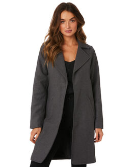 CHARCOAL WOMENS CLOTHING ALL ABOUT EVE JACKETS - 6433025CHAR