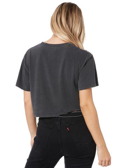 VINTAGE BLACK WOMENS CLOTHING THE PEOPLE VS TEES - W20W001VBLK