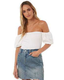 WHITE OUTLET WOMENS THE HIDDEN WAY FASHION TOPS - H8174171WHITE