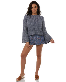BLUE WOMENS CLOTHING TIGERLILY KNITS + CARDIGANS - T385130BLUE
