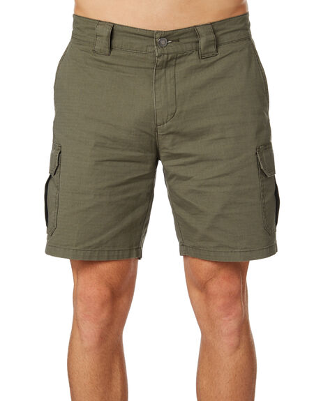 ARMY GREEN MENS CLOTHING DICKIES SHORTS - K4180802AGRN
