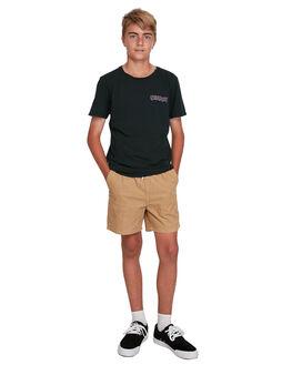 BLACK KIDS BOYS QUIKSILVER TOPS - EQBZT04119-KVJ0