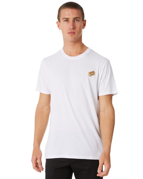 WHITE MENS CLOTHING AFENDS TEES - M182011WHT