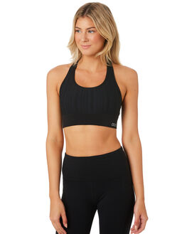 BLACK WOMENS CLOTHING LORNA JANE ACTIVEWEAR - W081904BLK