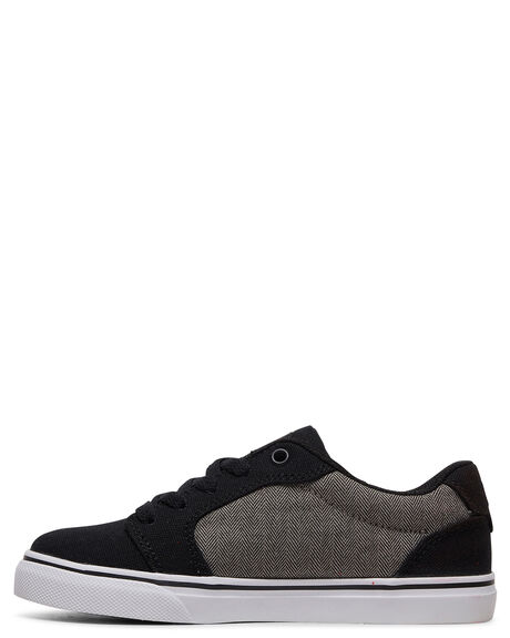 DARK GREY KIDS BOYS DC SHOES SNEAKERS - ADBS300246-DGY