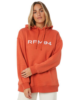 ORANGE WOMENS CLOTHING RPM JUMPERS - 20AW11BORG