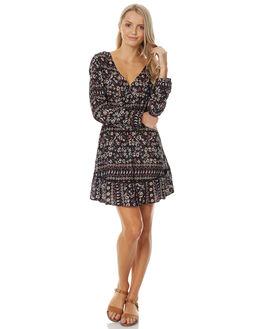 BLACKBIRD BORDER WOMENS CLOTHING O'NEILL DRESSES - 4021608BLBO