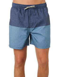MID BLUE MENS CLOTHING RIP CURL BOARDSHORTS - CBORA18962