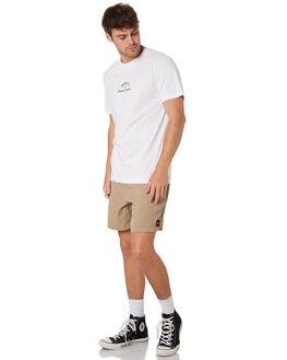 WHITE MENS CLOTHING RUSTY TEES - TTM2193WHT