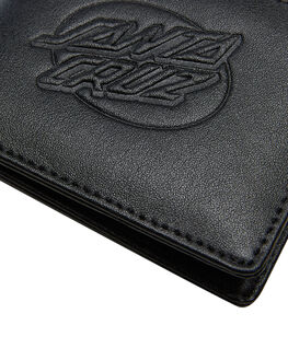 BLACK MENS ACCESSORIES SANTA CRUZ WALLETS - SC-MAA9192BLK