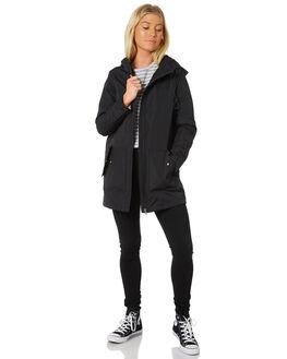 BLACK WOMENS CLOTHING RPM JACKETS - 8WWT13ABLACK