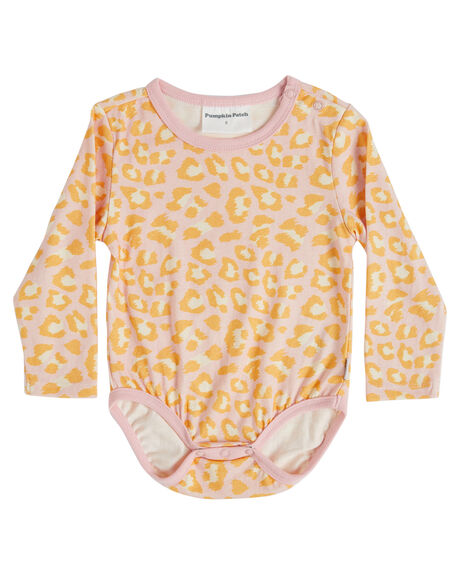 LEOPARD PINK KIDS BABY PUMPKIN PATCH CLOTHING - 20B7009BSLEOPK