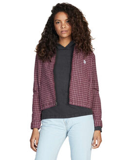 ANDORRA WOMENS CLOTHING QUIKSILVER JACKETS - EQWWT03012-RSD1