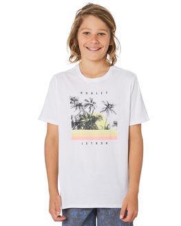 WHITE KIDS BOYS HURLEY TOPS - CI7518100