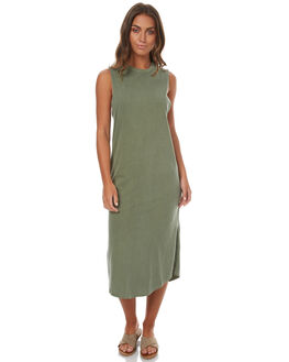 KHAKI WOMENS CLOTHING CAMILLA AND MARC DRESSES - PCMD1444KHA