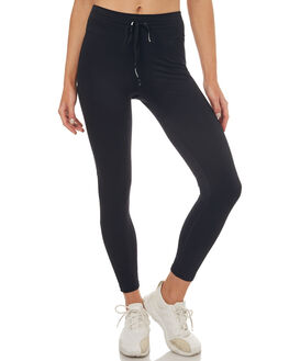 BLACK WOMENS CLOTHING THE UPSIDE PANTS - UPL1544BLK