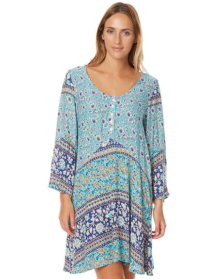 WEDGEWOOD FLORAL WOMENS CLOTHING O'NEILL DRESSES - 3721603WED