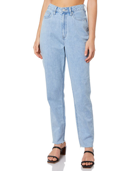 REAL BLUE WOMENS CLOTHING LEE JEANS - L-656474-766