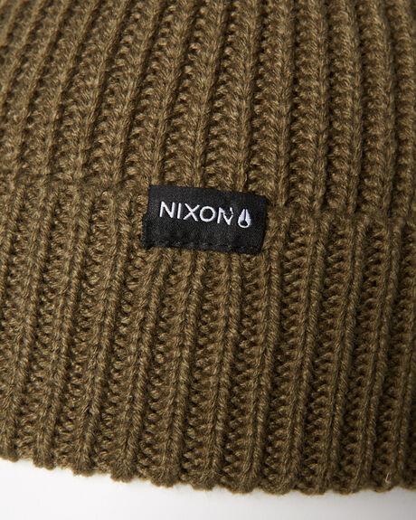 OLIVE MENS ACCESSORIES NIXON HEADWEAR - C1333333