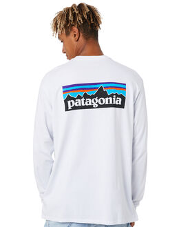 WHITE MENS CLOTHING PATAGONIA TEES - 38518WHI