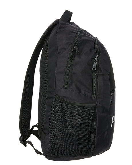 BLACK MENS ACCESSORIES RVCA BAGS + BACKPACKS - R332452ABLK
