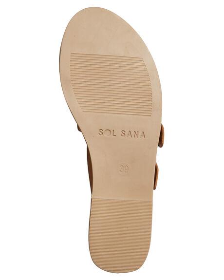 TAN WOMENS FOOTWEAR SOL SANA FASHION SANDALS - SS172S395TAN