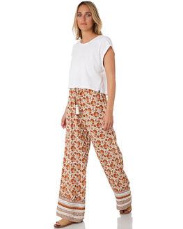 ORANGE WOMENS CLOTHING RIP CURL PANTS - GPAFF10030