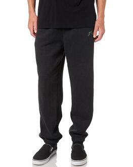 BLACK MENS CLOTHING RUSTY PANTS - PAM0978BLK