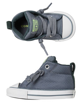 COOL GREY KIDS BOYS CONVERSE FOOTWEAR - 761973CGRY