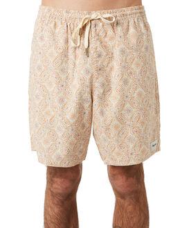 NATURAL MENS CLOTHING RHYTHM SHORTS - JAN20M-JM04-NAT