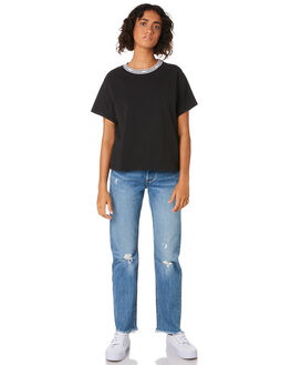 MINERAL BLACK WOMENS CLOTHING LEVI'S TEES - 68979-0003BLK