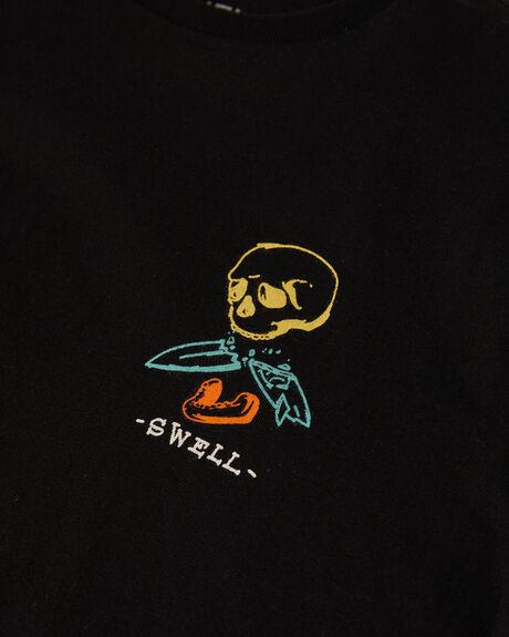 BLACK KIDS BOYS SWELL TOPS - S3222004BLK