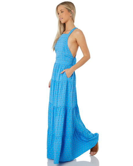 BLUE WOMENS CLOTHING SWELL DRESSES - S8184443BLUE