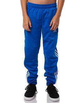BLUE KIDS BOYS ADIDAS ORIGINALS PANTS - CF8562BLU