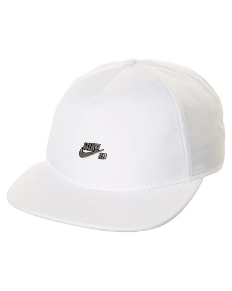 WHITE BLACK MENS ACCESSORIES NIKE HEADWEAR - 842420100