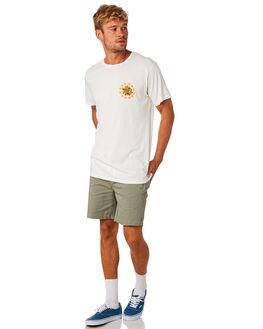 WHITE MENS CLOTHING MOLLUSK TEES - MS1731WHT