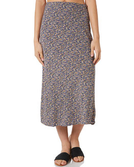 BLACK WOMENS CLOTHING RIP CURL SKIRTS - GSKAG90090