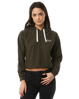 MILITARY WOMENS CLOTHING RVCA JUMPERS - R283156MILT