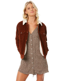 RUST WOMENS CLOTHING RVCA JACKETS - R283432R24