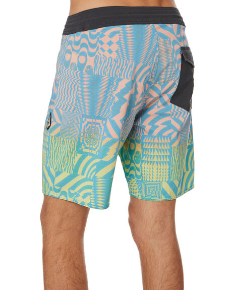 LAGUNA BLUE MENS CLOTHING VOLCOM BOARDSHORTS - A0841902LAG