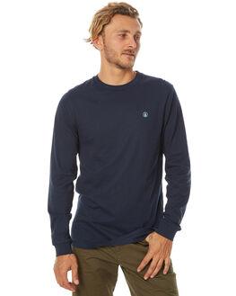 NAVY MENS CLOTHING VOLCOM TEES - A3611676NVY
