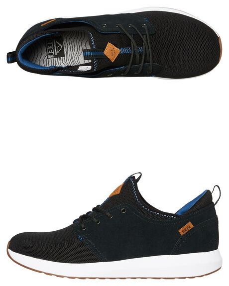 BLACK MENS FOOTWEAR REEF SNEAKERS - A3YKLBHQ