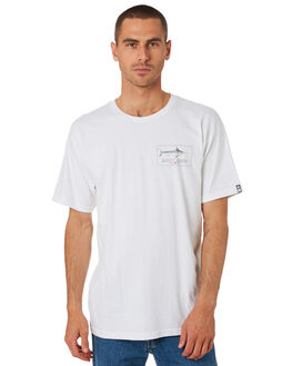 WHITE MENS CLOTHING SALTY CREW TEES - 20035249WHT