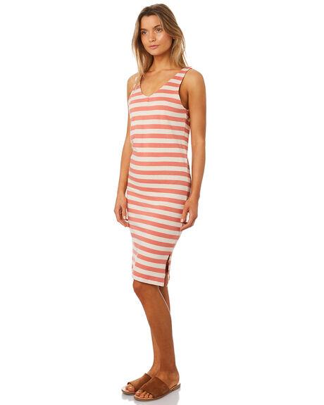 RUST WOMENS CLOTHING RIP CURL DRESSES - GDRFV10530