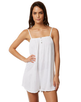 WHITE OUTLET WOMENS THE HIDDEN WAY PLAYSUITS + OVERALLS - H8171457WHITE