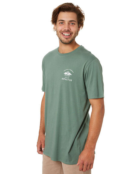 OLIVE MENS CLOTHING DEPACTUS TEES - D5202002OLIVE