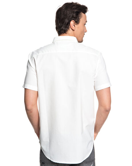 WHITE MENS CLOTHING QUIKSILVER SHIRTS - EQYWT03705WBB0